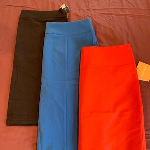 LOT of 3 Pencil Skirts NWT